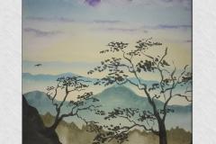 japán hegyek